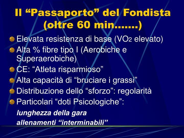 """Il """"Passaporto"""" del Fondista"""