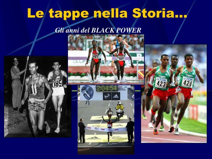 Gli anni del BLACK POWER