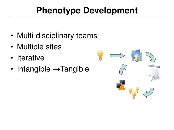 Phenotype Development
