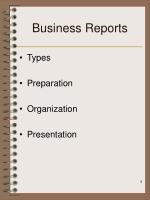 business reports