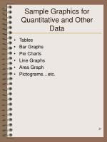 sample graphics for quantitative and other data