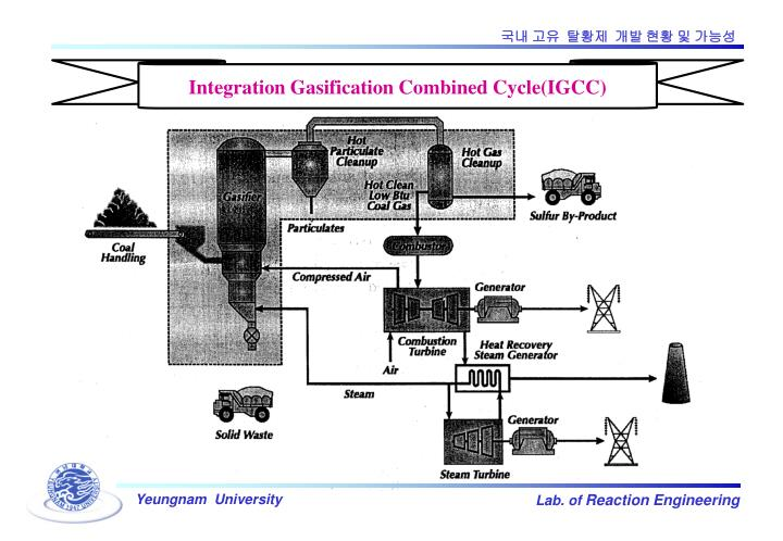 Integration Gasification Combined Cycle(IGCC)