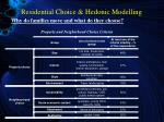 residential choice hedonic modelling8