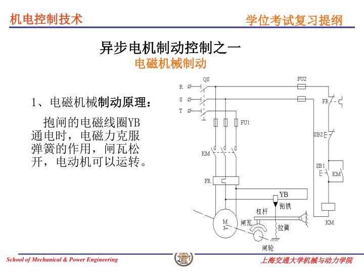异步电机制动控制之一