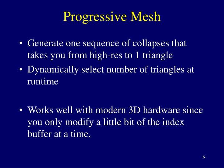 Progressive Mesh