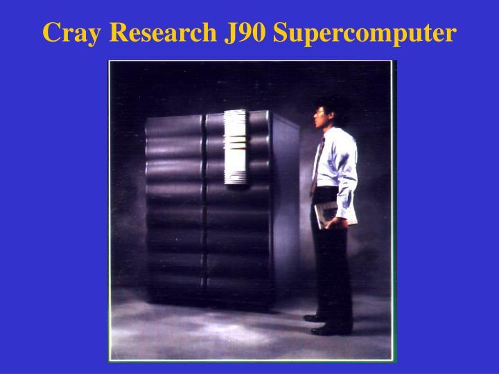 Cray Research J90 Supercomputer