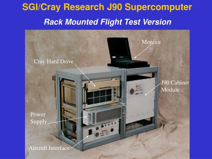 SGI/Cray Research J90 Supercomputer