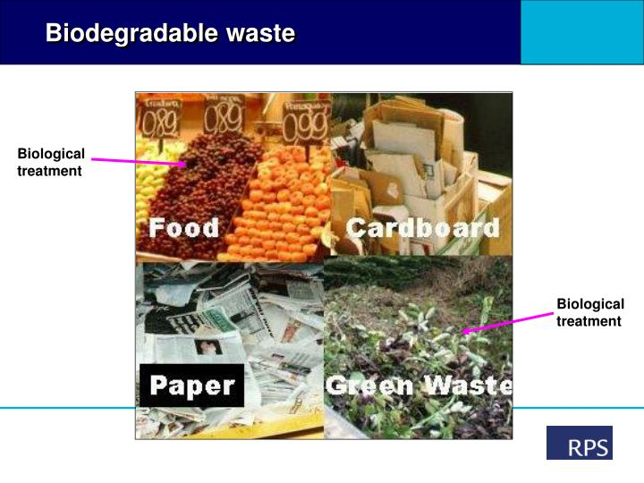 Biodegradable waste