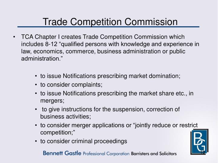 Trade Competition Commission
