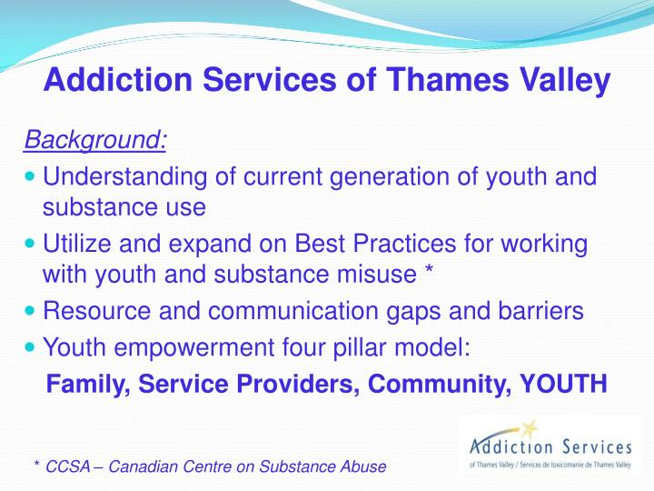 Addiction Services of Thames Valley