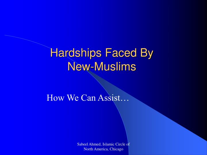 Hardships Faced By