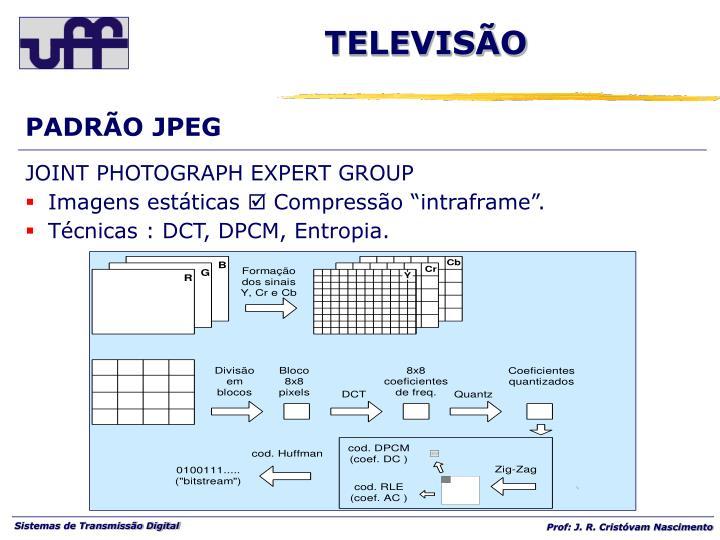 PADRÃO JPEG