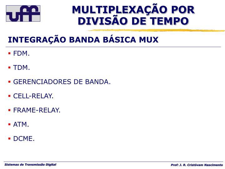 INTEGRAÇÃO BANDA BÁSICA MUX