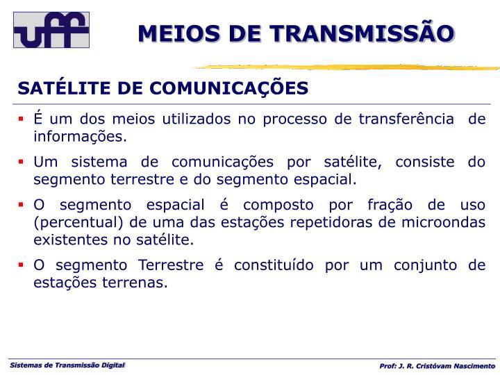 SATÉLITE DE COMUNICAÇÕES