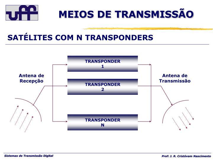 SATÉLITES COM N TRANSPONDERS