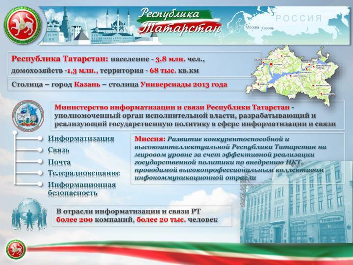 Республика Татарстан: