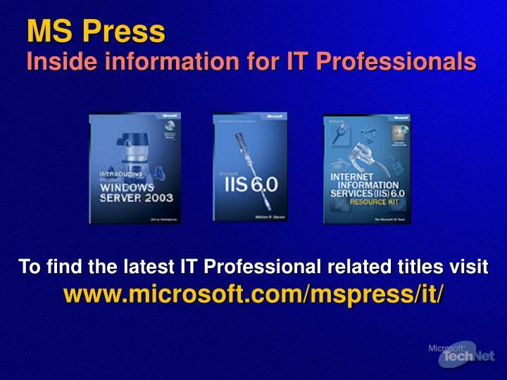 MS Press
