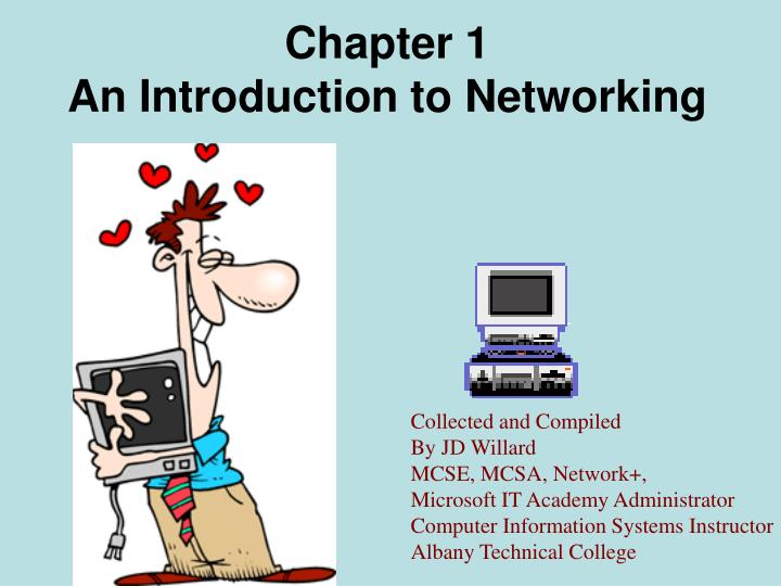 Chapter 1 an introduction to networking