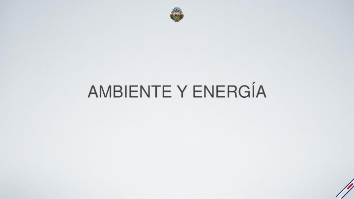 AMBIENTE Y ENERGÍA