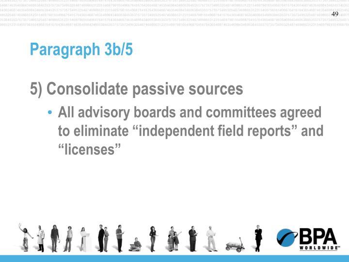 Paragraph 3b/5