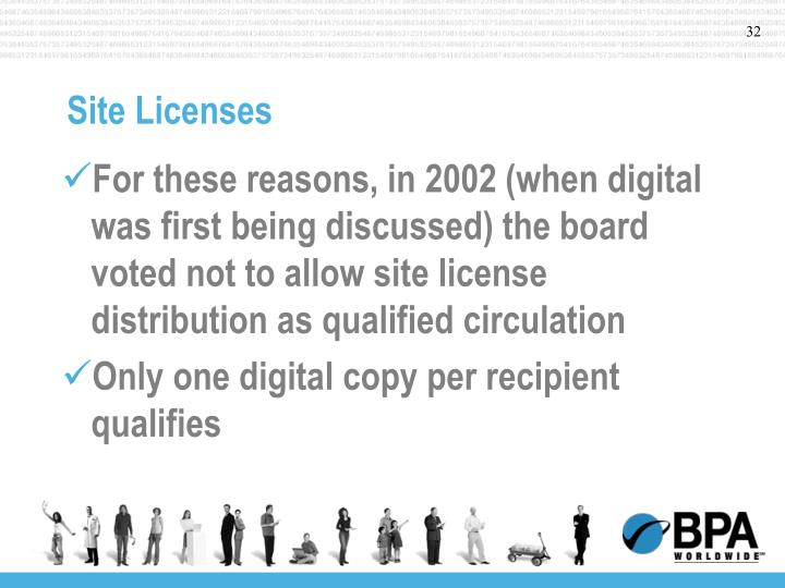 Site Licenses