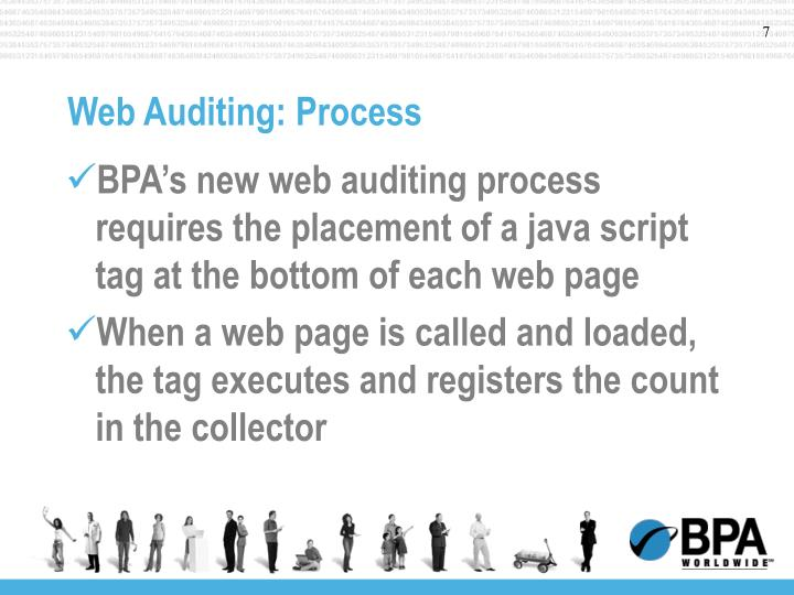 Web Auditing: Process