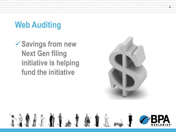 Savings from new Next Gen filing initiative is helping fund the initiative