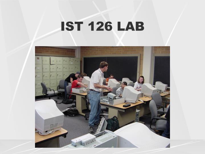 IST 126 LAB