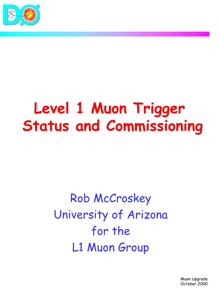 level 1 muon trigger status and commissioning n.