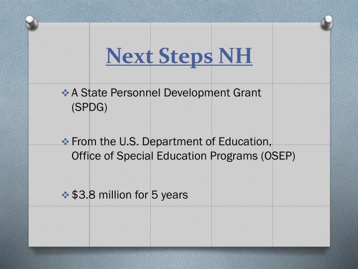 Next Steps NH