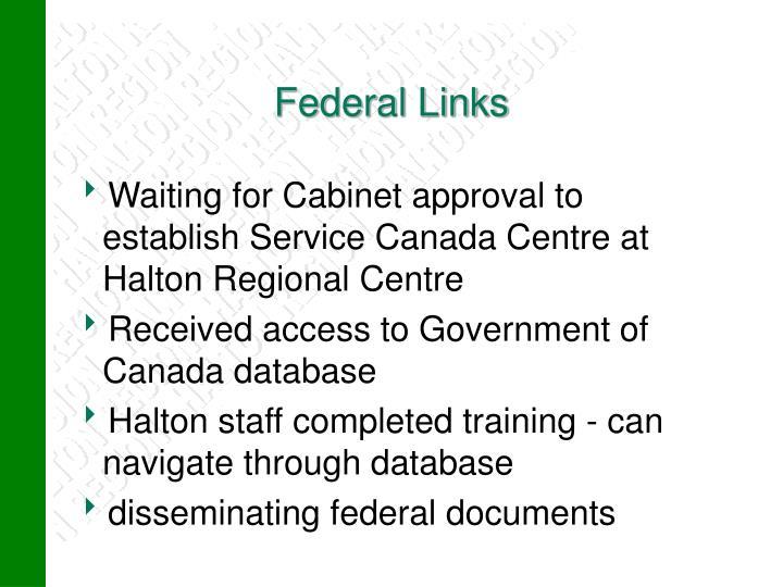 Federal Links