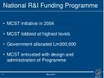 national r i funding programme1