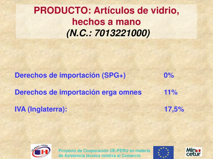 PRODUCTO: