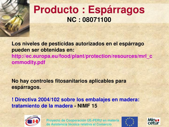 Producto :