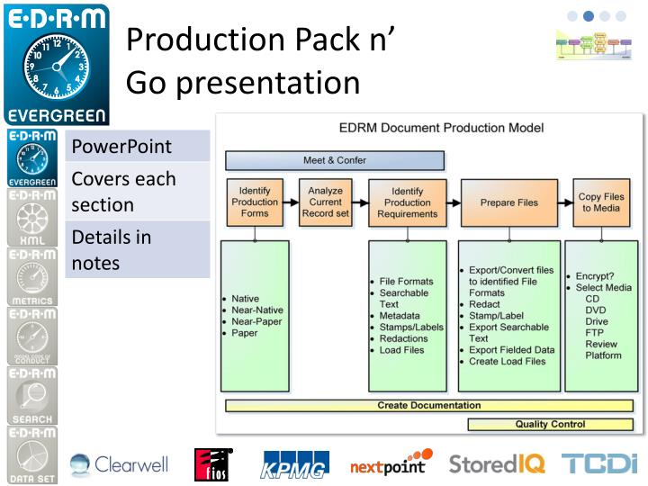 Production pack n go presentation