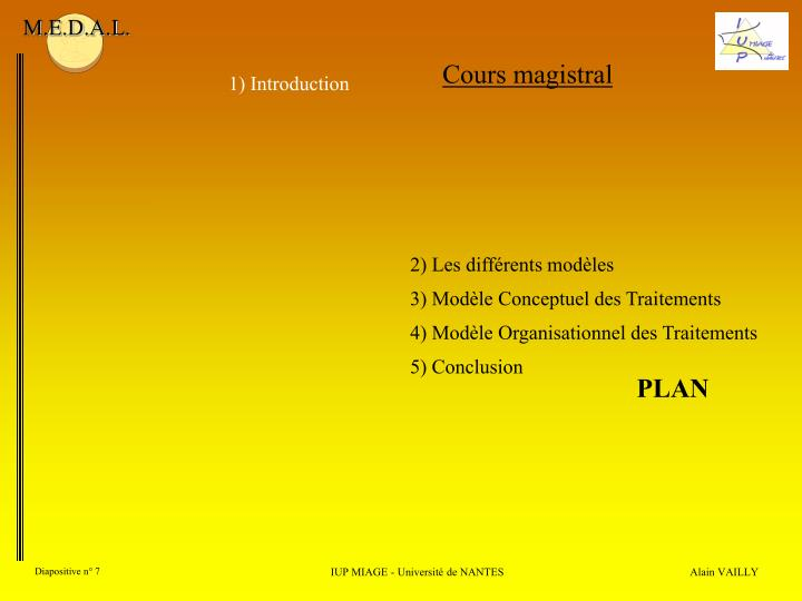 Cours magistral