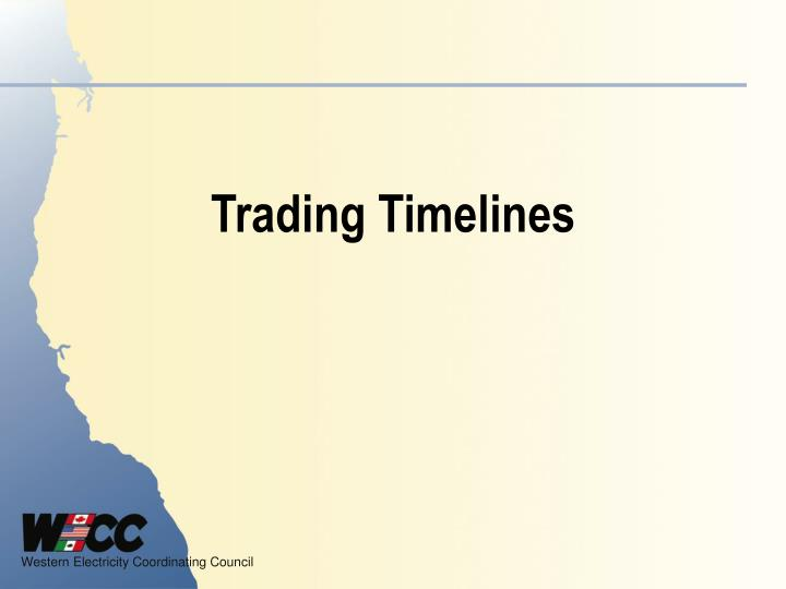 Trading Timelines