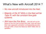 what s new with aircraft 2014