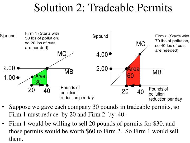 Solution 2 tradeable permits