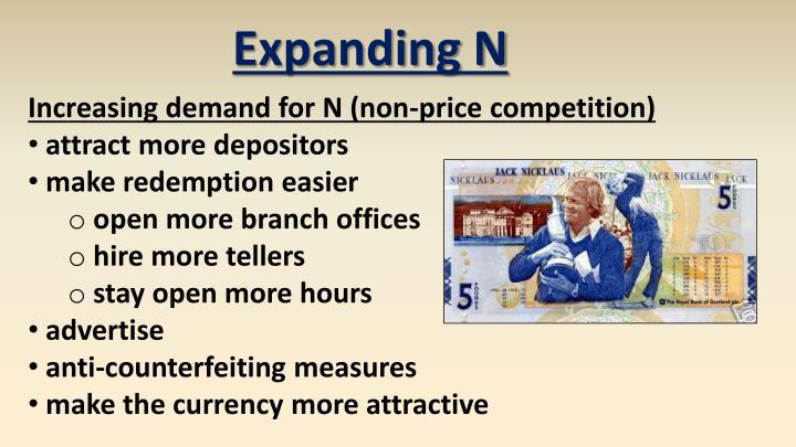 Expanding N