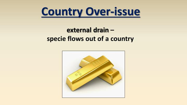 Country Over-issue