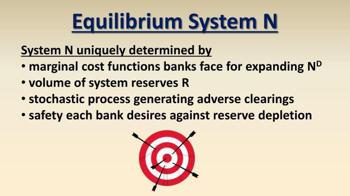 Equilibrium System N