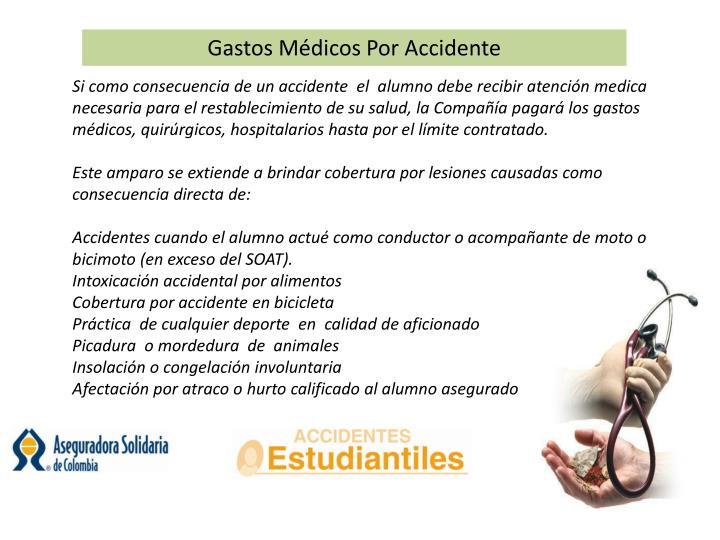 Gastos Médicos Por Accidente