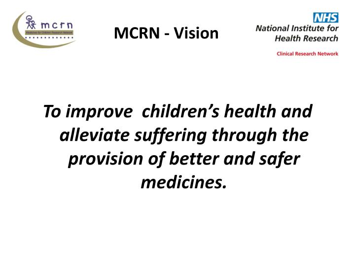 MCRN - Vision