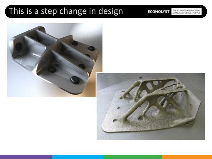 This is a step change in design