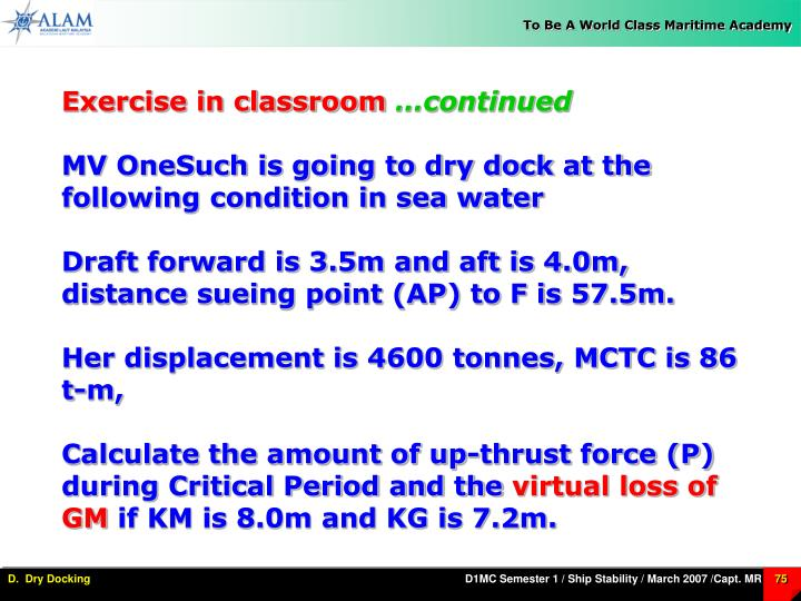 Exercise in classroom