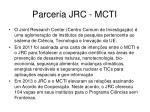 parceria jrc mcti