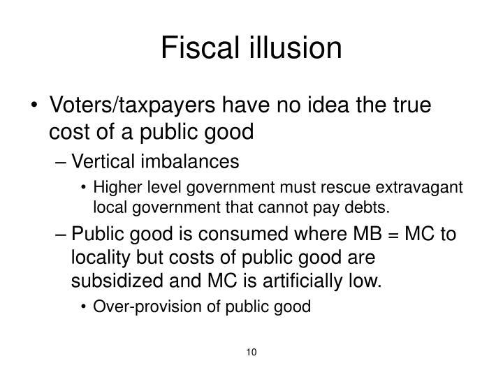 Fiscal illusion