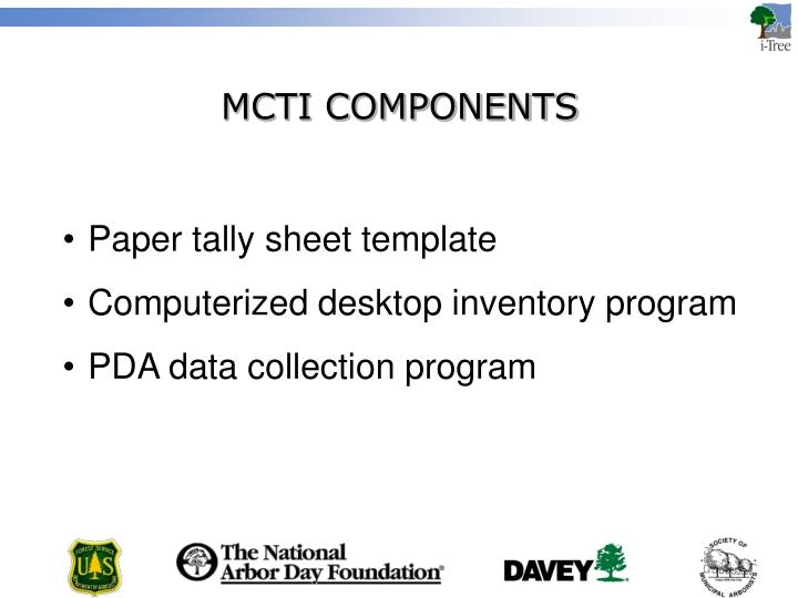 MCTI COMPONENTS