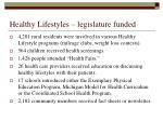 healthy lifestyles legislature funded1